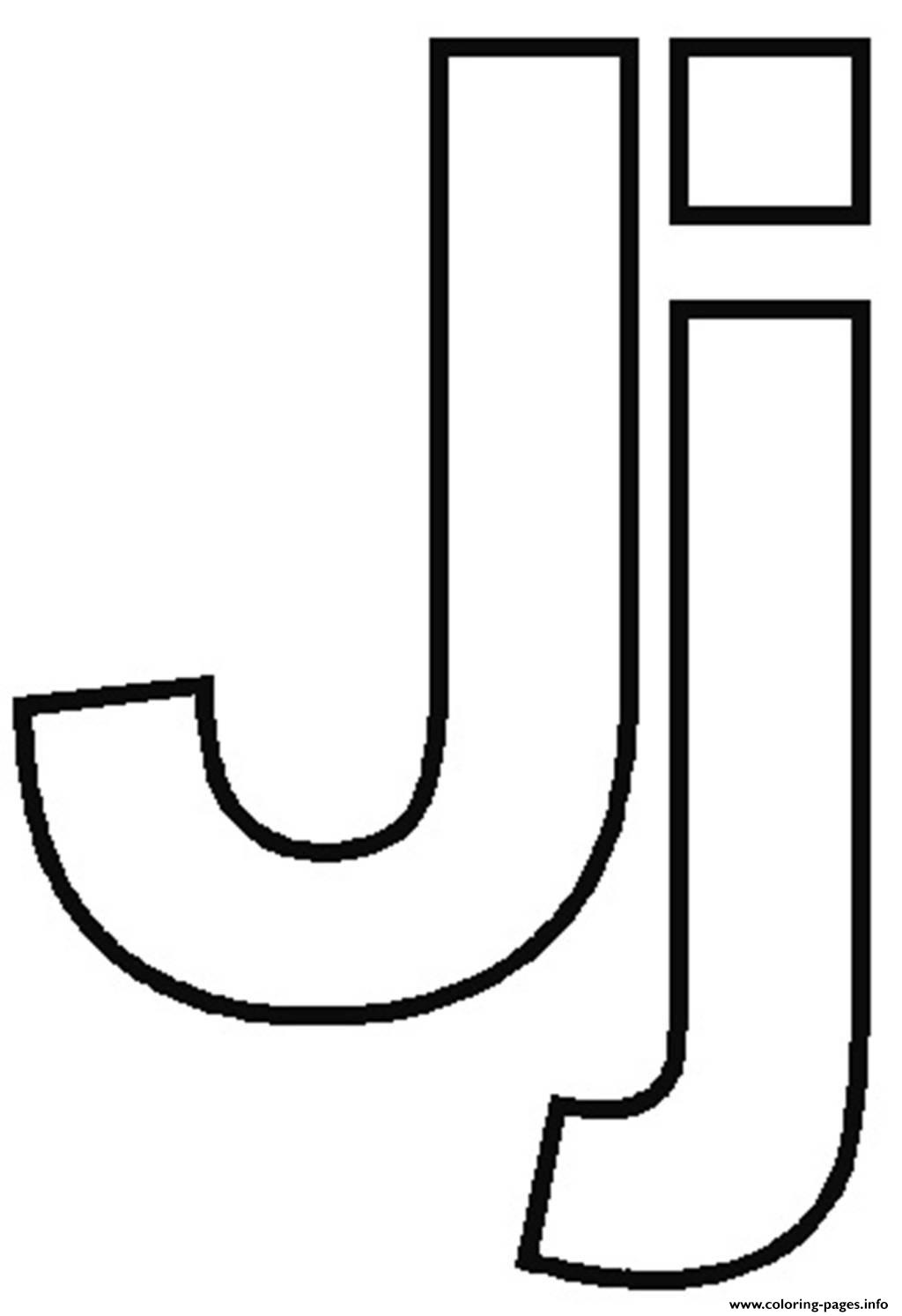 Free Printable Letter J Coloring Pages