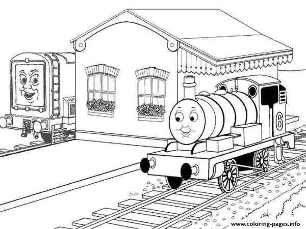 train coloring pages printable # 19