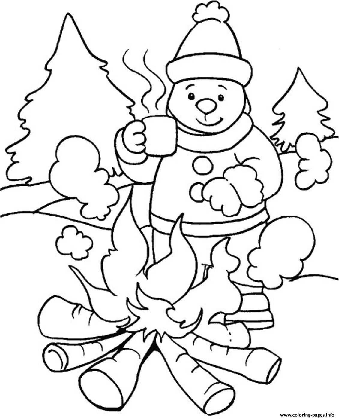 Little Snowflake Worksheet