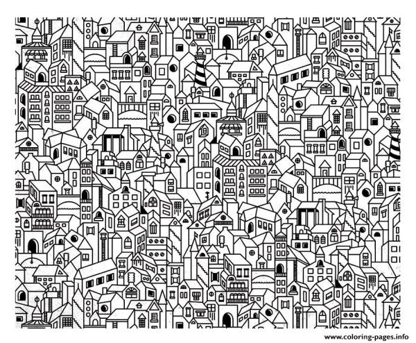 city coloring pages # 18