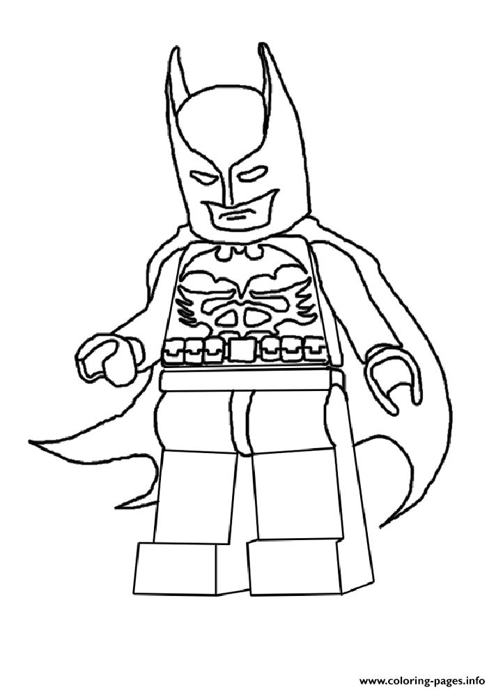 Batman Lego 2016 Coloring Pages Printable
