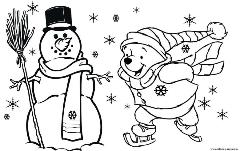 winnie the pooh free christmas s for kidsfd59 coloring pages printable