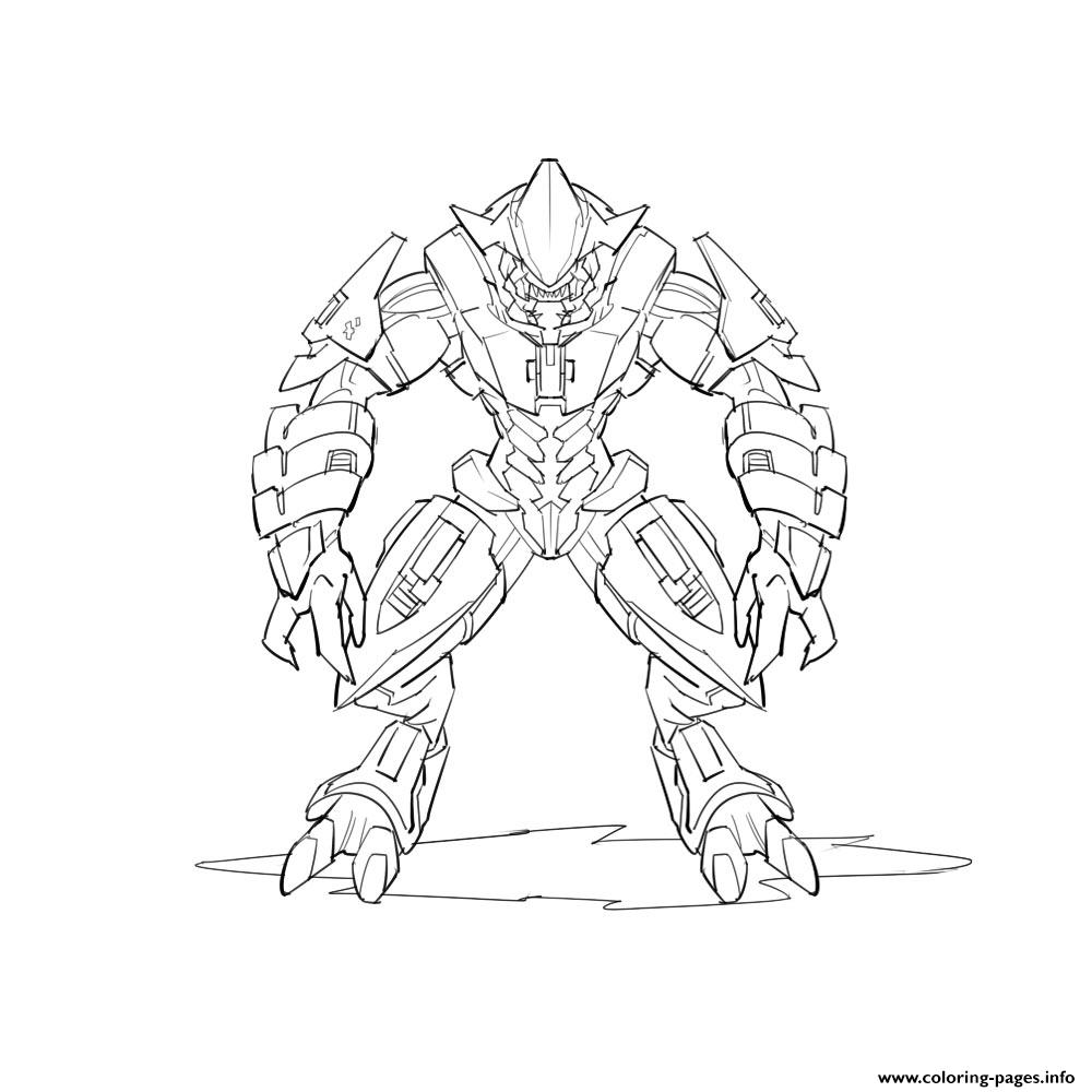 Halo Coloring Pages Pictures Coloring Pages Printable