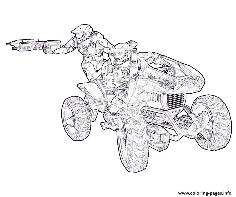 halo master chief coloring pages coloring pages printable