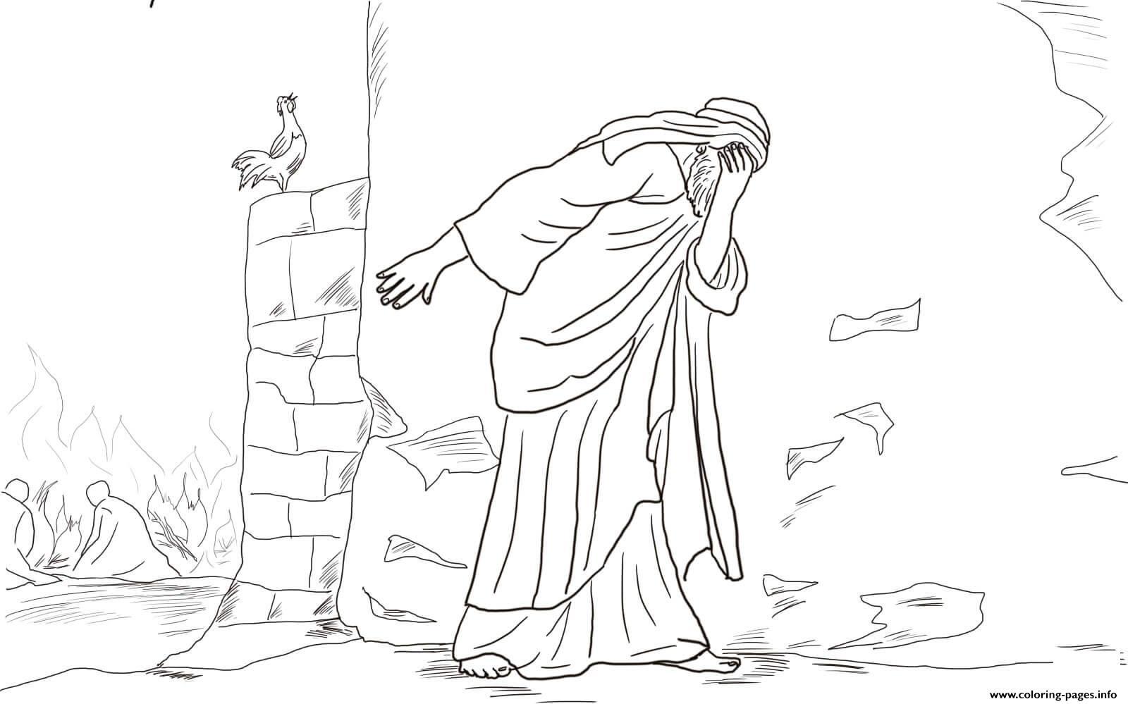 Good Friday 6 Peter Denies Jesus Three Times By Robert
