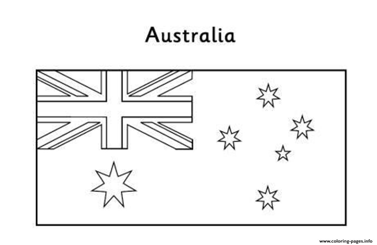 Chile Flag Coloring Pages