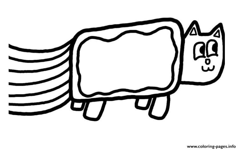 nyan cat coloring pages printable coloring pages