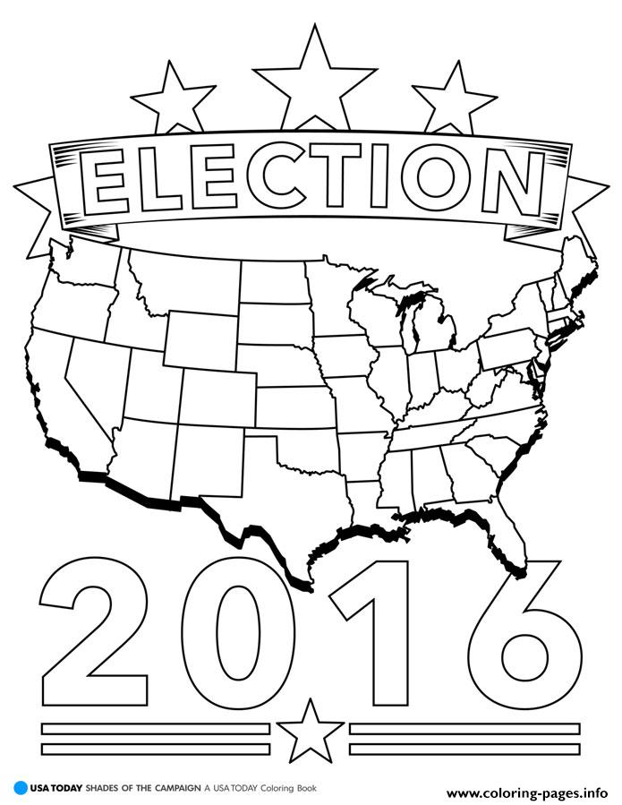 election  america coloring pages printable