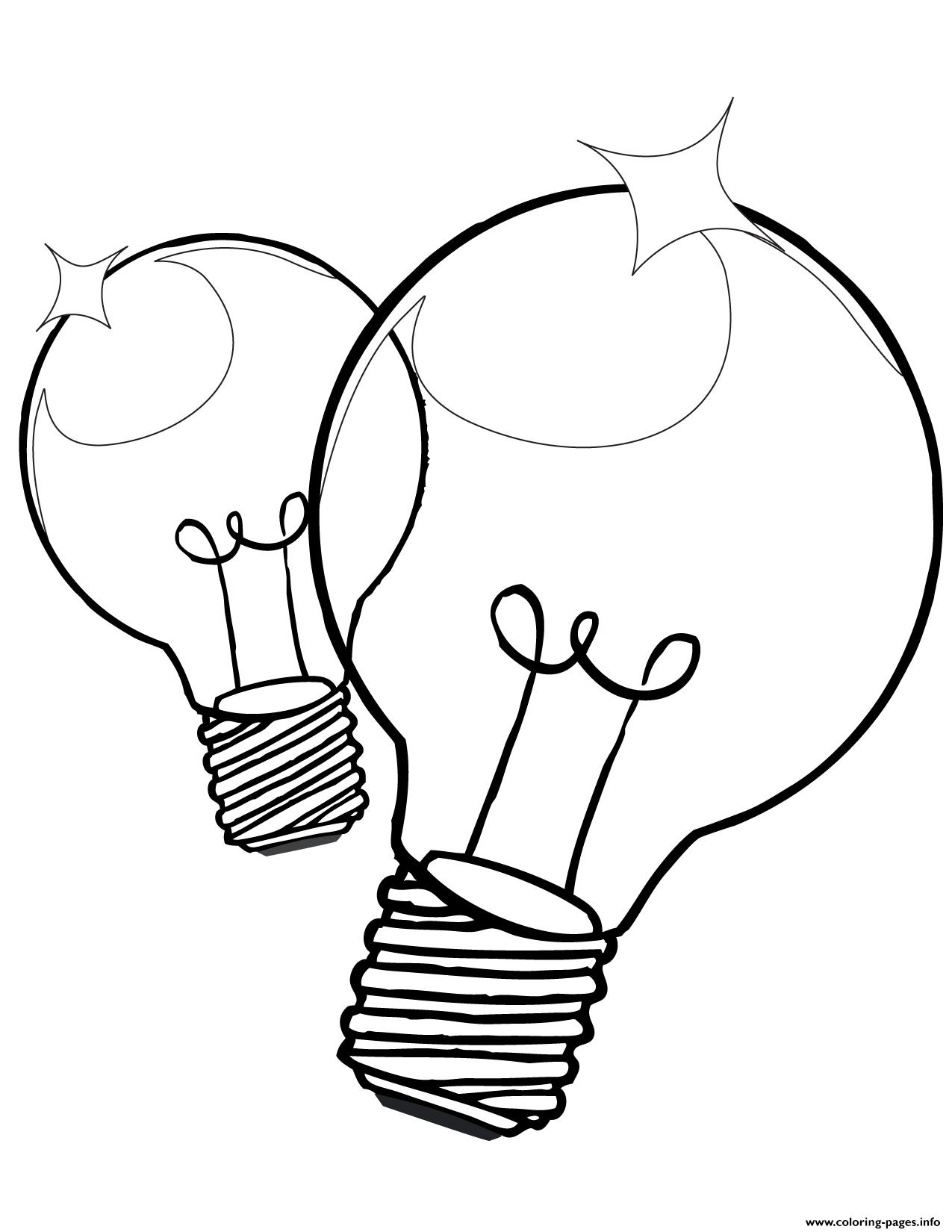 Free Coloring Pages Download Christmas Light Bulb Page Printable Of