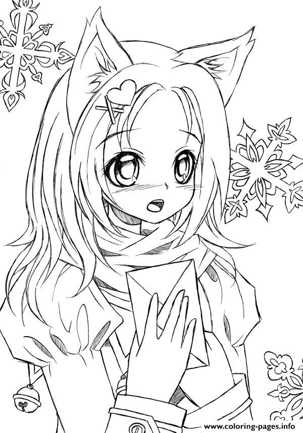 gacha life  free coloring pages