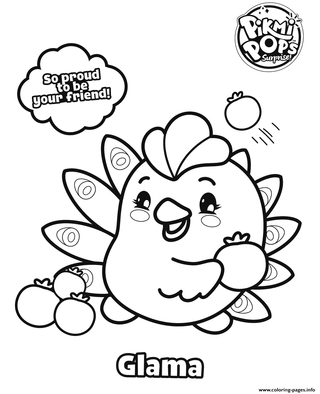 cake pop coloring pages - photo#14
