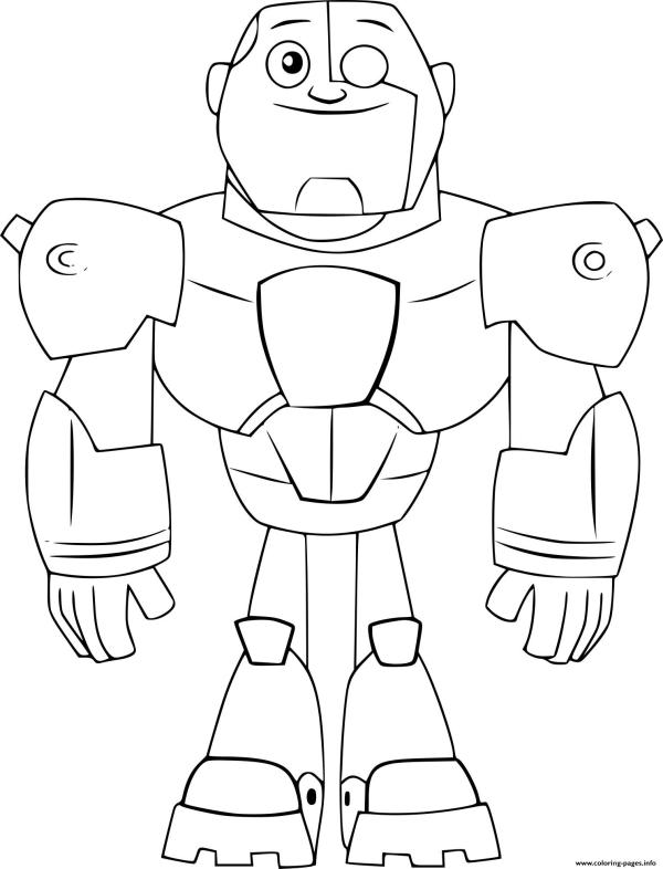 teen titan coloring pages # 41
