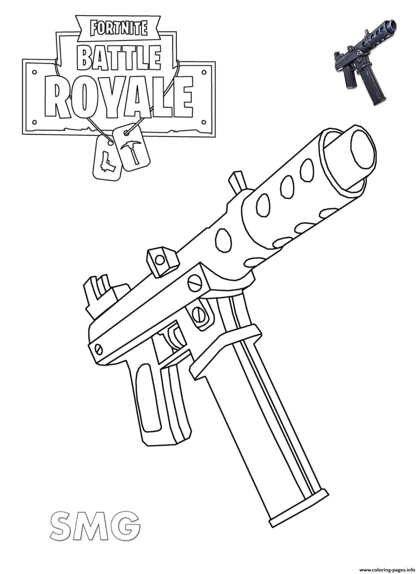 Coloriage Imprimer Fortnite Arme Modern Home Revolution