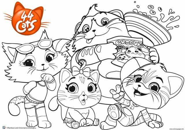 Buffycats 22 Cats Coloring Pages Printable