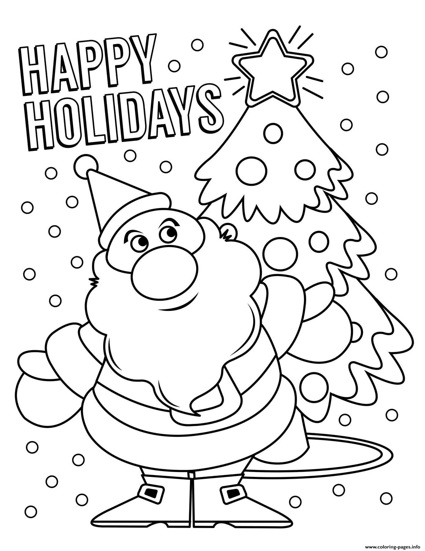 Santa Claus Coloring Pages Printable