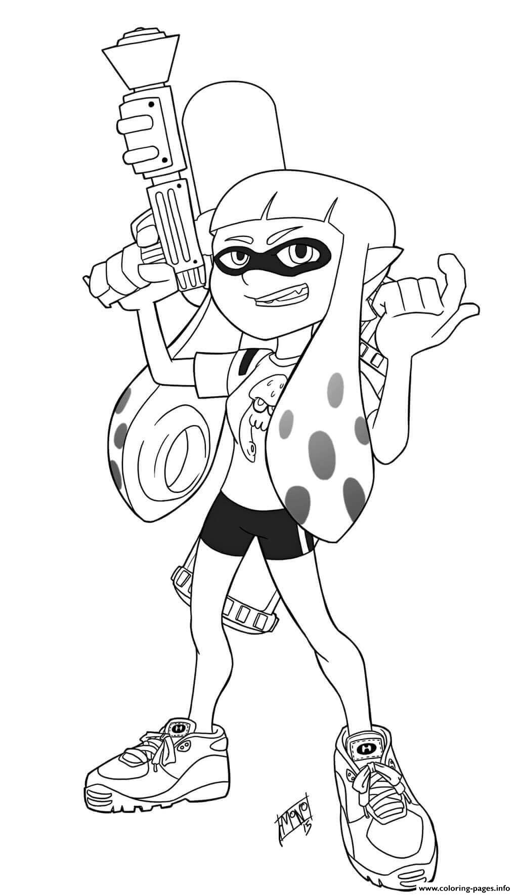 Inklings Can Alternate Between Humanoid And Squid Form