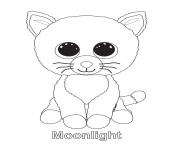 BEANIE BOO Coloring Pages Color Online Free Printable