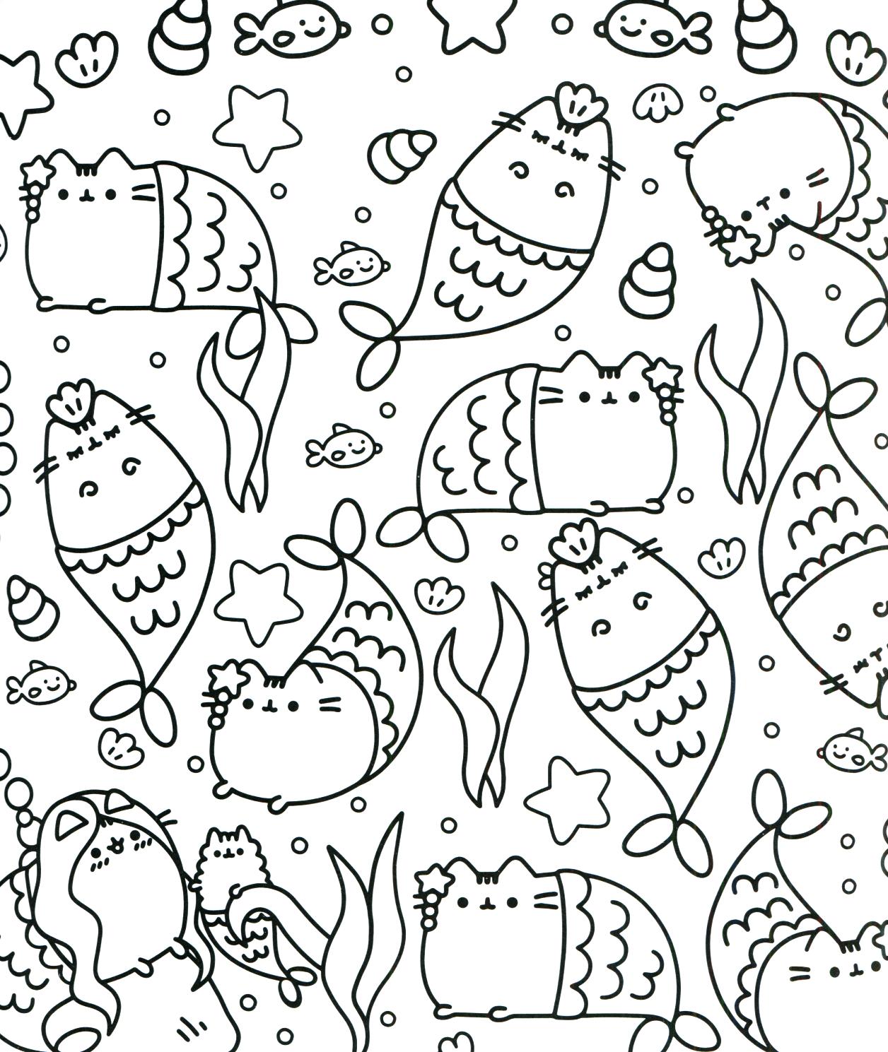 Kawaii Coloring Pages