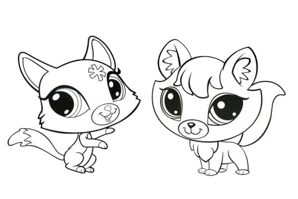 littlest pet shop coloring page # 65