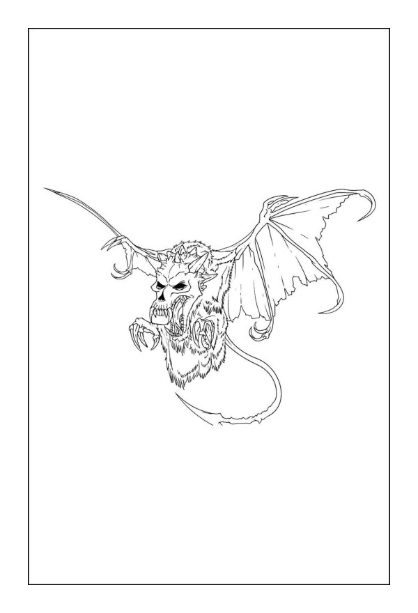 free dragon coloring pages # 84