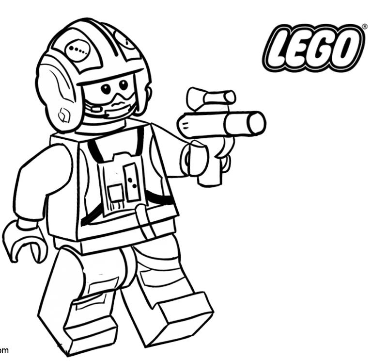 Lego Star Wars Coloring Pages Coloring Rocks