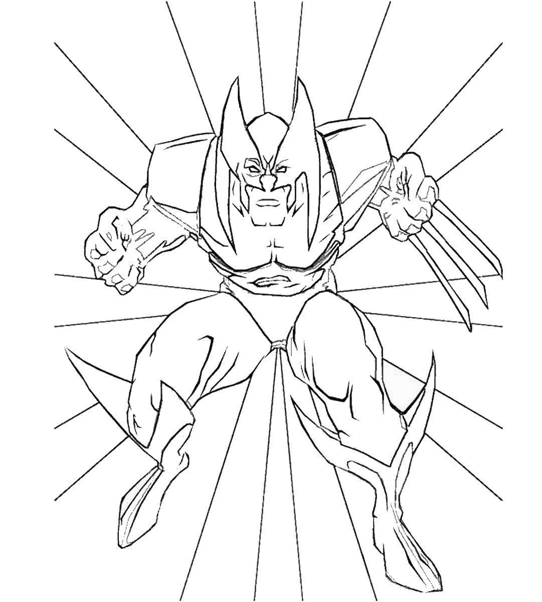 Wolverine And The X Men Coloring Pages