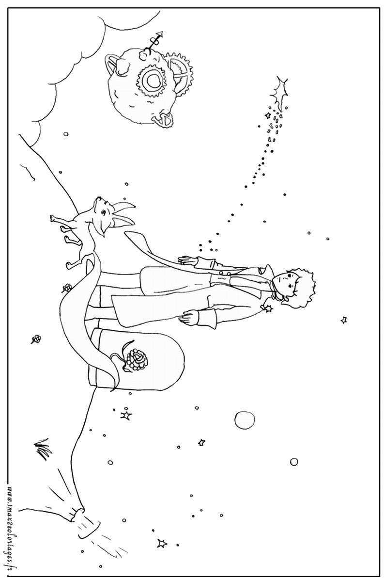 The Little Prince Coloring Pages