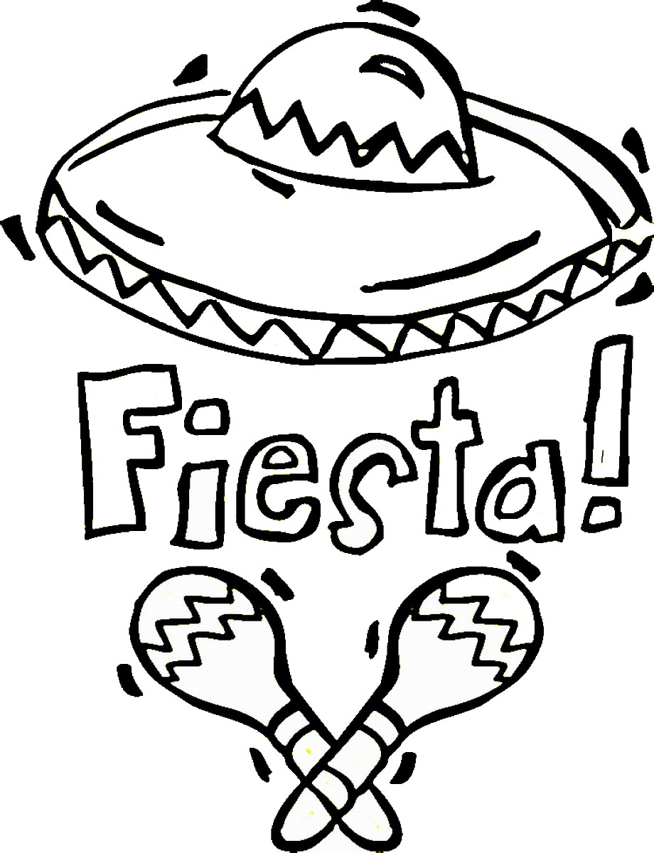 Charmant Mexican Coloring Pages