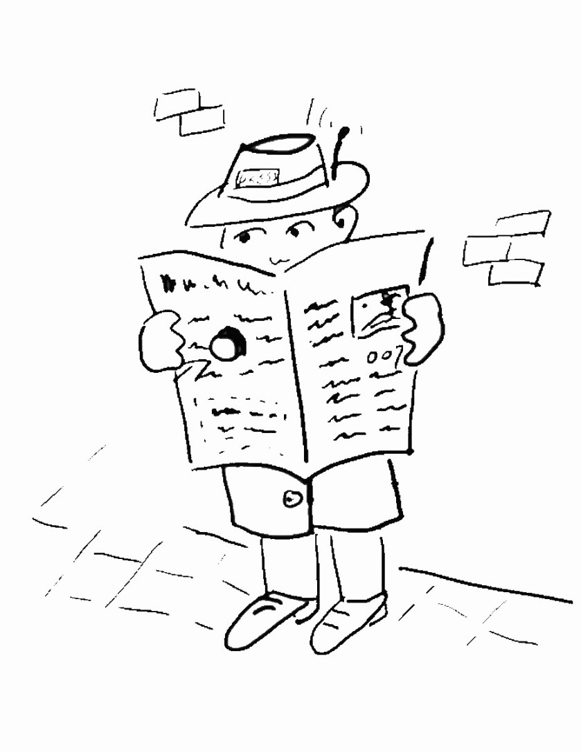 spy coloring pages
