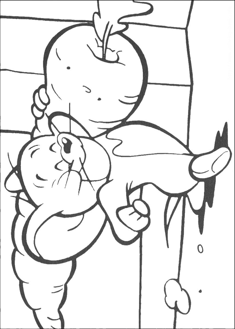 Tom And Jerry Coloring Pages