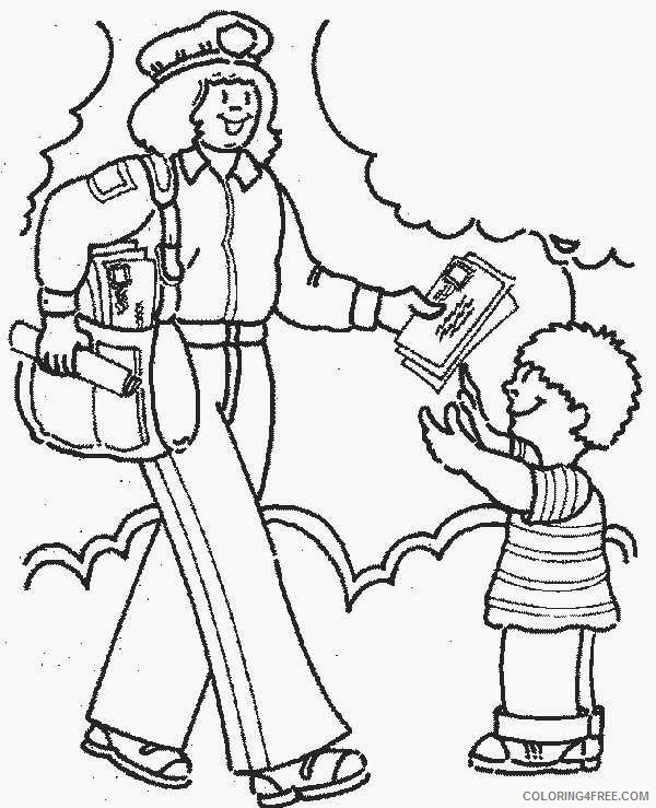 Community Helpers Coloring Pages Free To Print Coloring4free Coloring4free Com