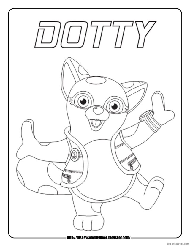 disney junior coloring pages dotty Coloring18free - Coloring18Free.com