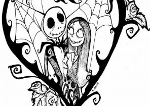 Nightmare Before Christmas Coloring Pages Coloring4free Com