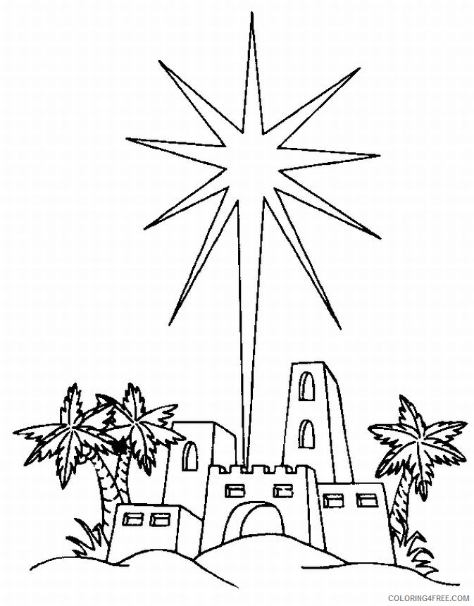 North Star Coloring Pages Coloring4free Coloring4free Com