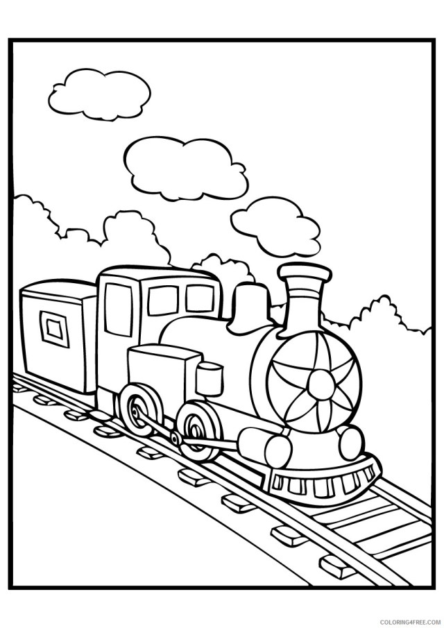 polar express coloring pages for kids Coloring27free
