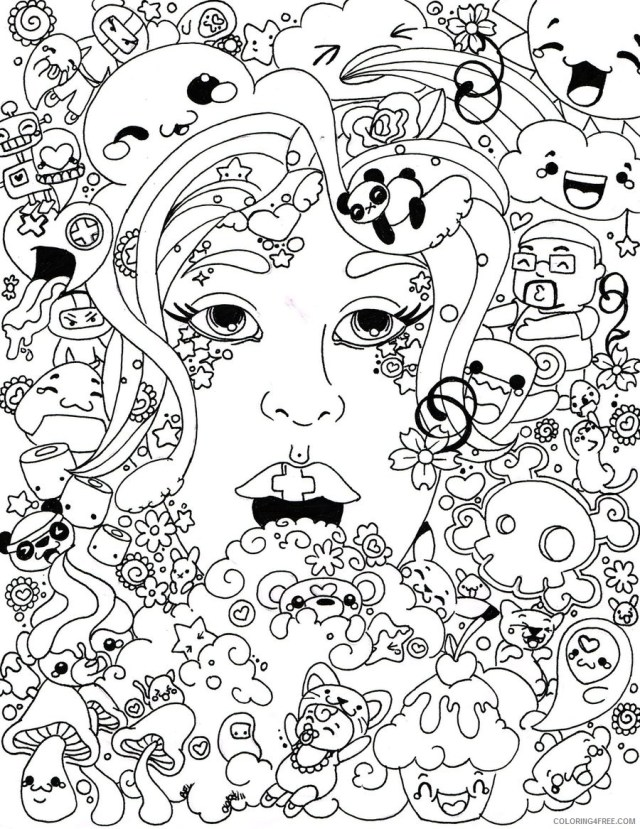 printable trippy coloring pages Coloring29free - Coloring29Free.com
