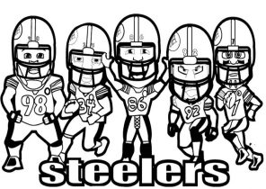 Football Coloring Pages Coloring4free Com