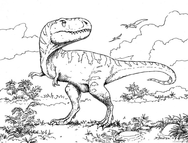 t rex coloring pages jurassic park Coloring26free - Coloring26Free.com