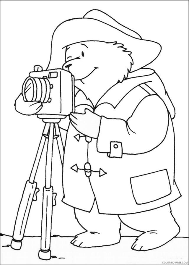 Paddington Bear Coloring Pages Cartoons paddington_bear_coloring13