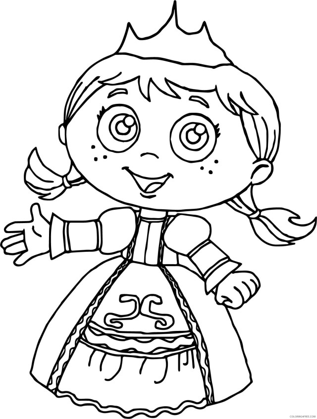 Super Why Coloring Pages TV Film Free Super Why Printable 26