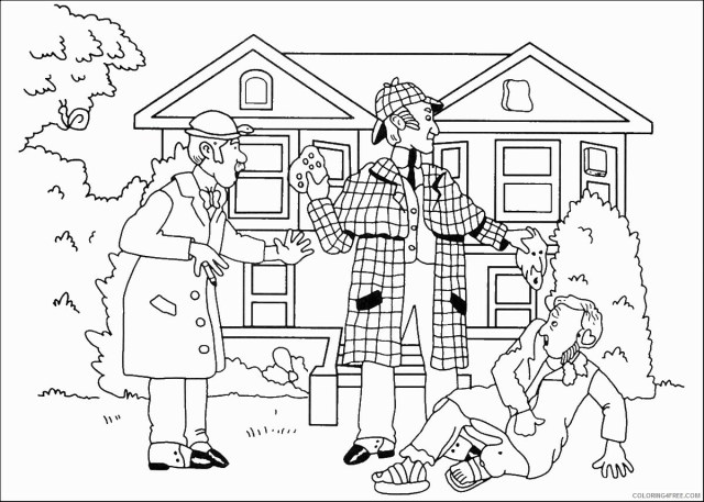 Spy Coloring Pages for boys spy_29 Printable 29 2941