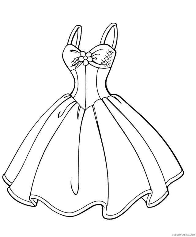Fashion Coloring Pages for Girls fashion_cl_20 Printable 20 20