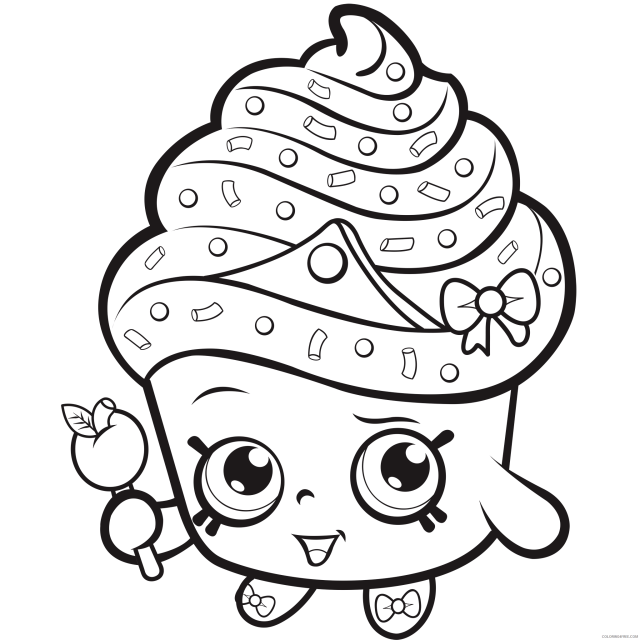 Shopkins Coloring Pages for Girls Shopkins Printable 10 10