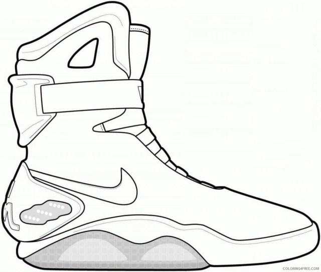 Air Nike Air Coloring Sheets Printable Sheets 15 Remarkable Jordan
