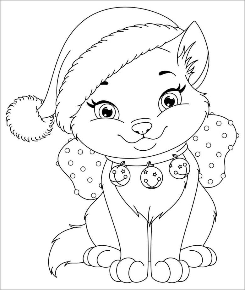 cat coloring pages - coloringbay