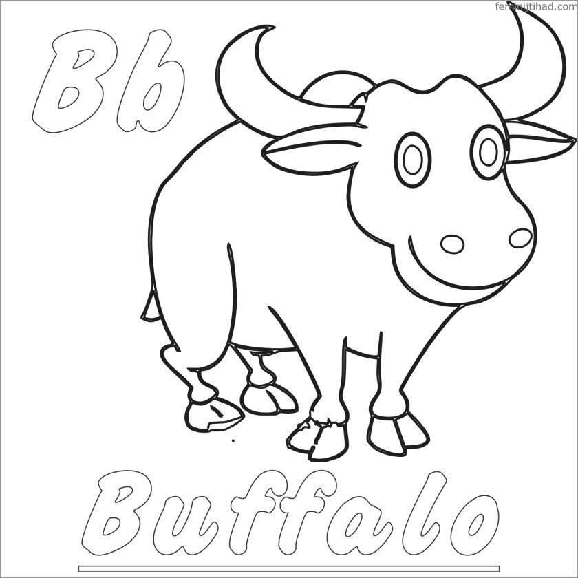 buffalo coloring pages  coloringbay