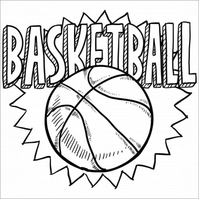 Basketball Coloring Pages - ColoringBay