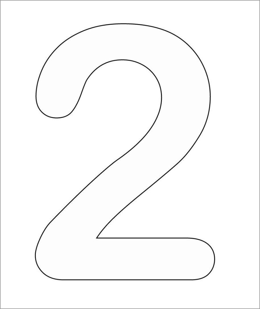 number 1 coloring pages  coloringbay