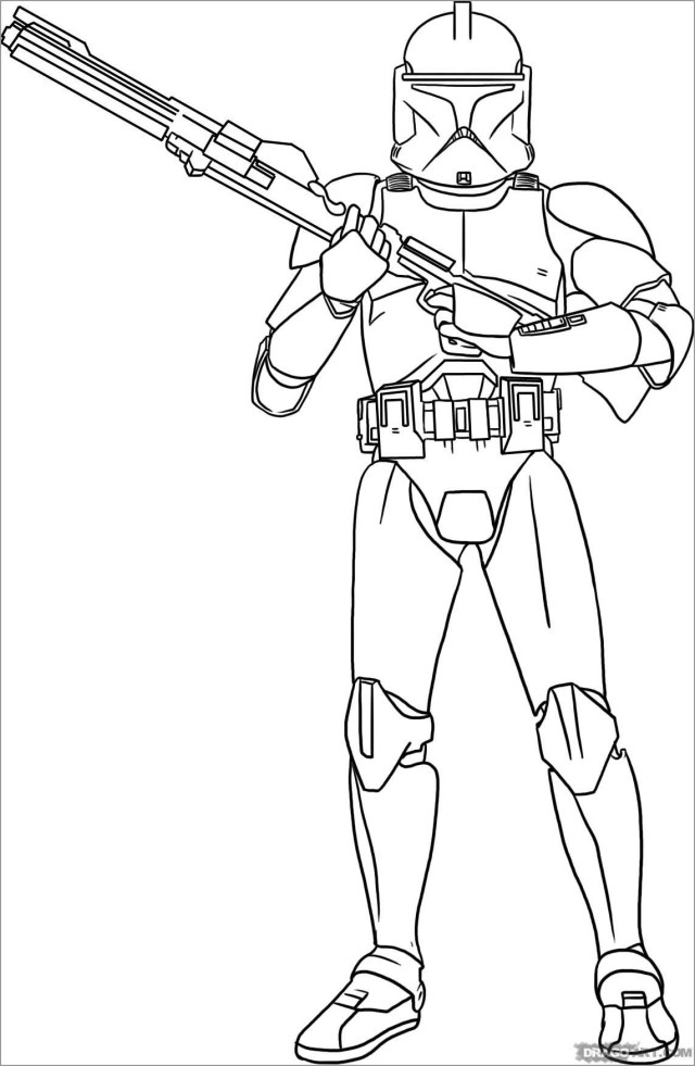 Star Wars Coloring Pages Stormtrooper - ColoringBay