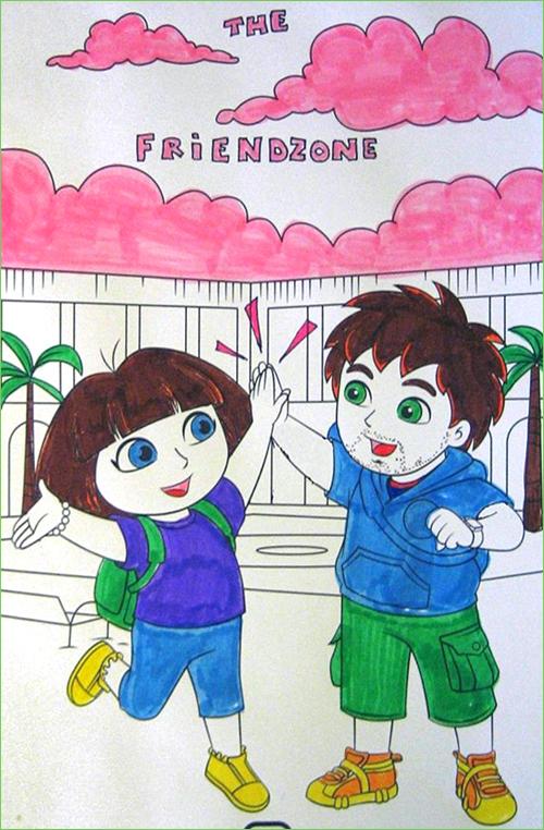 Dora Coloring Book Images